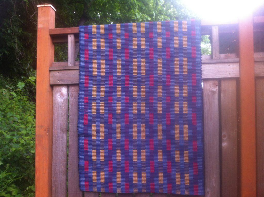 Rep weave rug, 2013